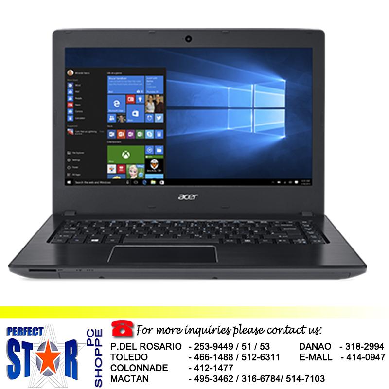 ACER ASPIRE E14 I3 6100u Perfect Star PC Shoppe